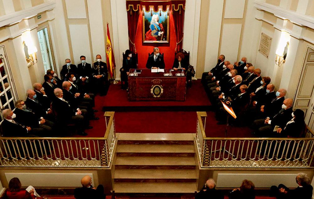 Inauguración del curso en las Reales Academias del Instituto de España